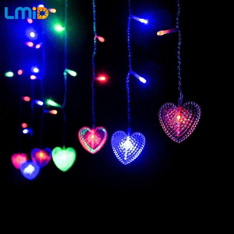 LMID String Light 2 M * 0.6 M AC110V AC220V Navidad Decoración Del - Iluminación de vacaciones