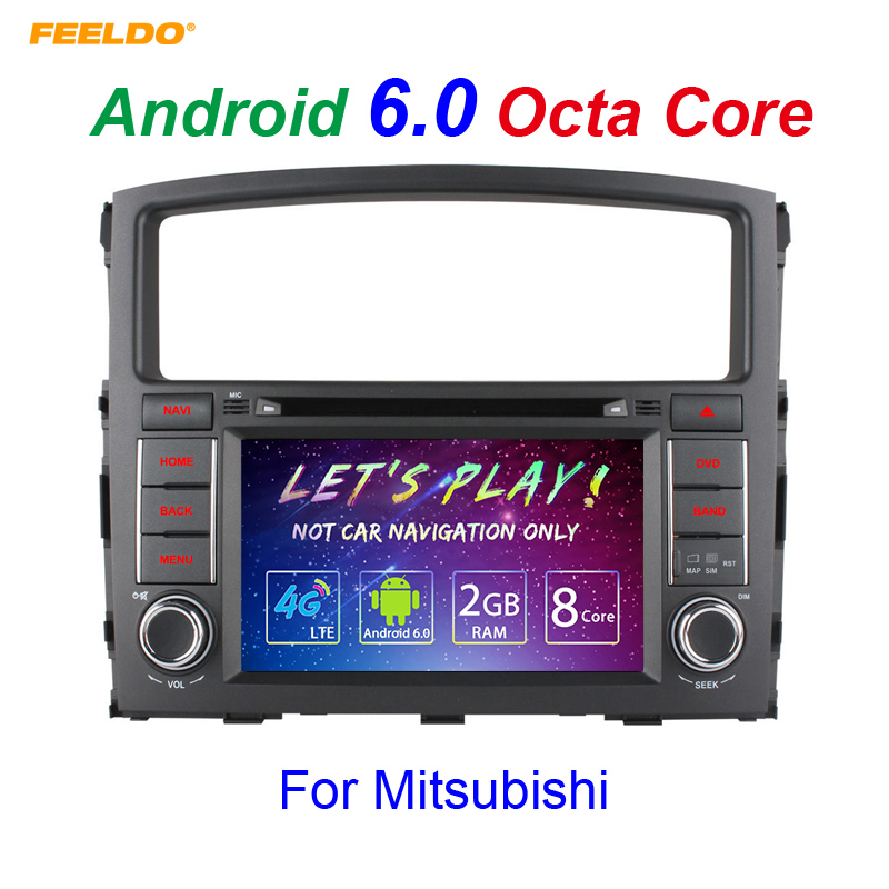 "FEELDO 6.2"" Android 6.0 (64bit) DDR3 2G/32G/4G LTE Octa Core Car DVD GPS Radio Head Unit For Hyundai H1/H-1/H3Grand Starex/i800"