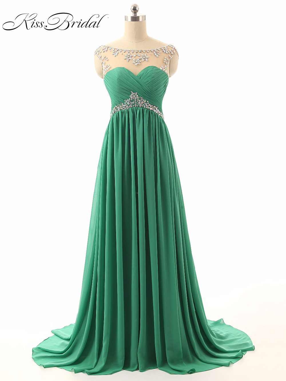 A-Line Beaded   Prom     Dresses   2017 Scoop Neck Sleeveless Lace Up Back Robe De Soiree Elegant Long Evening Party   Dresses