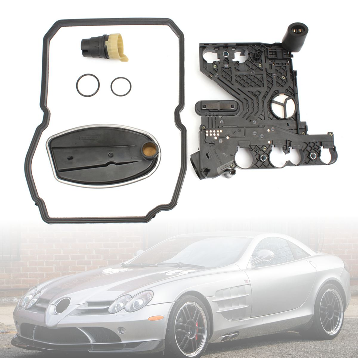 722.6 Gearbox Transmission Conductor Plate Connector Filter Gasket Kit Set For Benz CLK ML SL 1402770095722.6 Gearbox Transmission Conductor Plate Connector Filter Gasket Kit Set For Benz CLK ML SL 1402770095