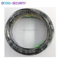 50M Outdoor FTTH Fiber Optic Drop Cable Patch Cord SC/APC to SC/APC Duplex SM G657A2 LSZH 4core Drop Cable Patch Cord