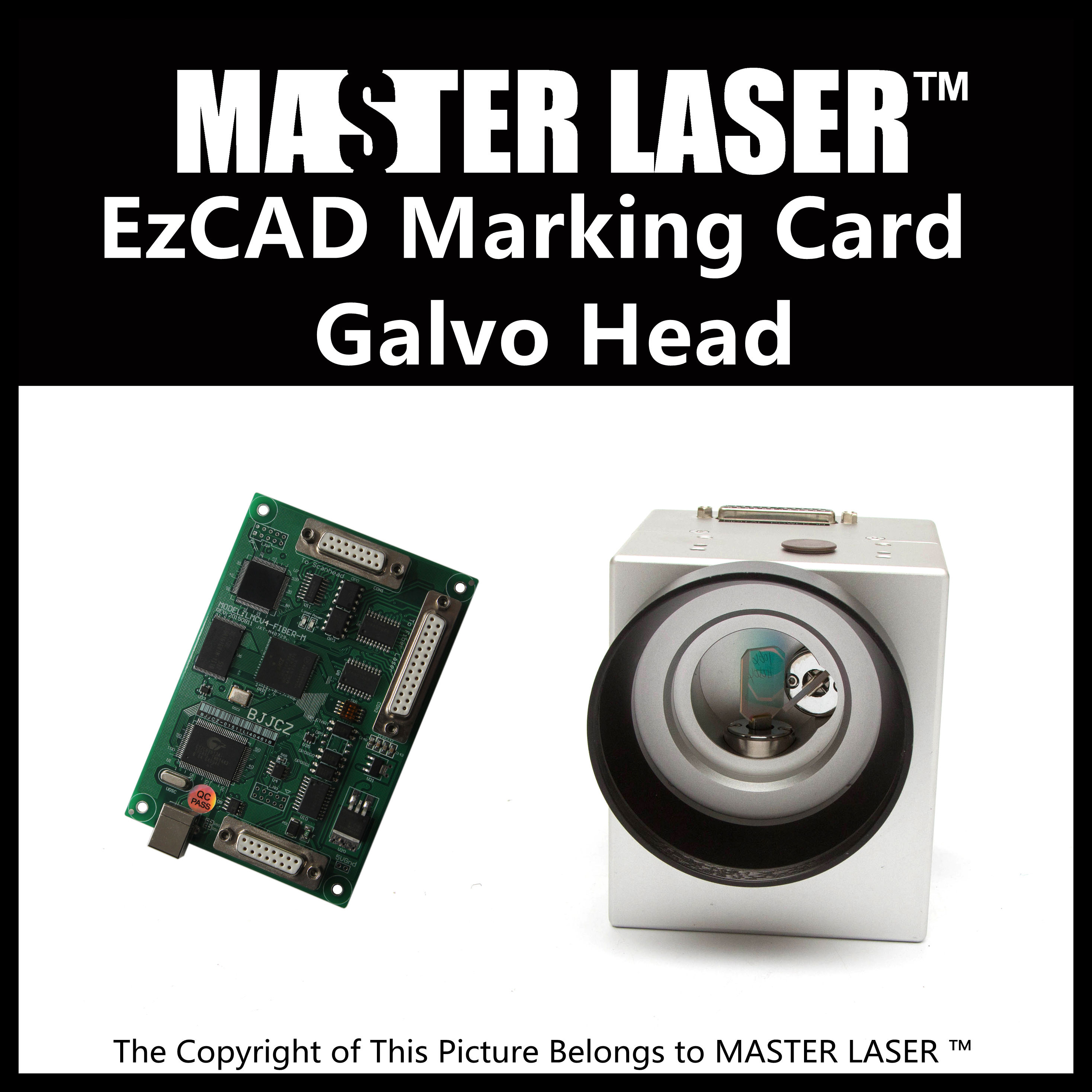 Low Price Good Quality Galvo Scanning System 1064nm 10mm Input Fiber Laser Galvanometer and Original BJJCZ EzCAD Marking Card high quality southern laser cast line instrument marking device 4lines ml313 the laser level