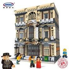 XingBao 01005 подлинный креативный город МОС морской музейный Набор строительных блоков кирпичные игрушки модель для мальчиков детские подарки