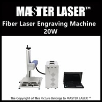 Lower Price 50W Fiber Portable 220V Input Raycus Laser With DELL DESKTOP Computer Laser Engraving Machine