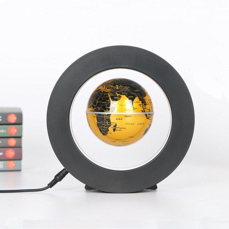4 pouces lévitation Anti gravité Globe magnétique flottant Globe monde carte école enseignement ressource lumière LED maison bureau bureau décor