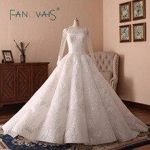 Robe de mariage longs manches