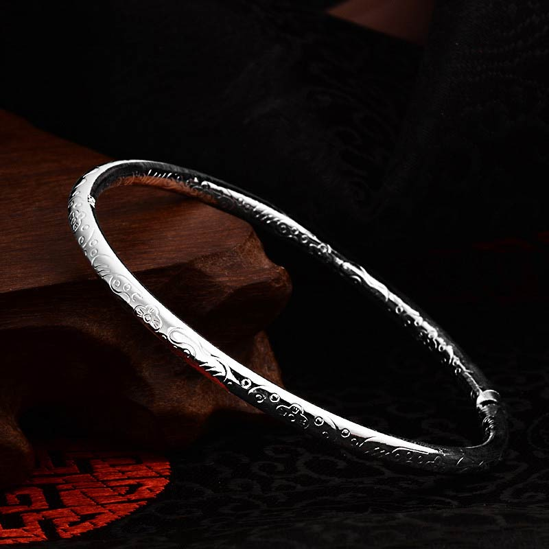 SHUANGR Silver Color Stainless Steel Statement Jewelry Fashion Open Cuff Bangles Bracelets For Women Wrap Hand Bijoux