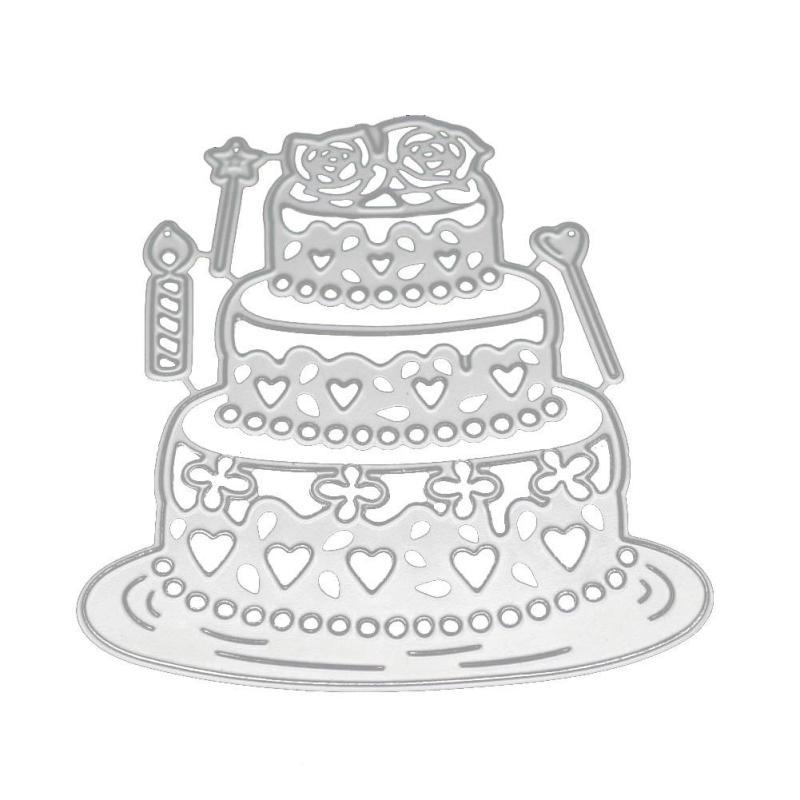 Herz Kuchen Liebhaber Einladung Metall Schneiden Sterben Hochzeit