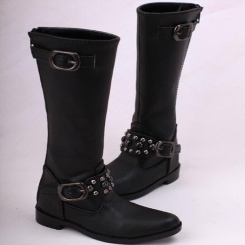 "BJD Blue Synthetic Shoes Flats For 1//4 17/"" 44cm BJD doll AOD MSD DOD DK DZ"