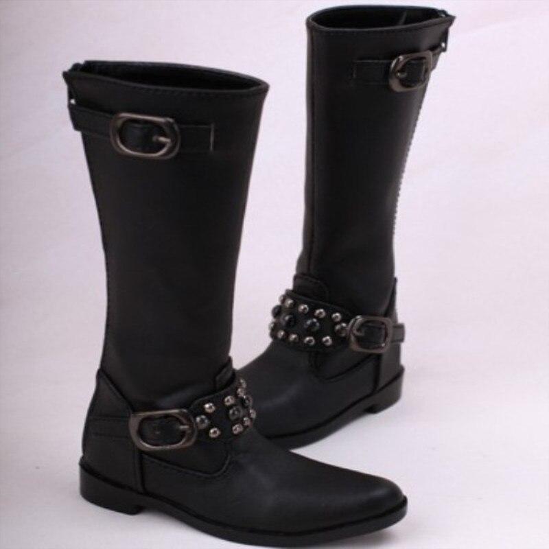 3 BJD stiefel für starke onkel große füße schwarz farbe-sooms