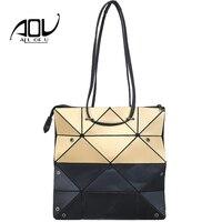 Hot Selling BaoBao Bag Women Handbag Famous Brand Plaid Bag Female Bao Bao Casual Tote Panelled