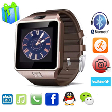 DZ09 Inteligente U8 Reloj de Pulsera Digital Con Hombres Del Deporte Electrónico Bluetooth Smartwatch para IOS de Apple iPhone Samsung Huawei Teléfono