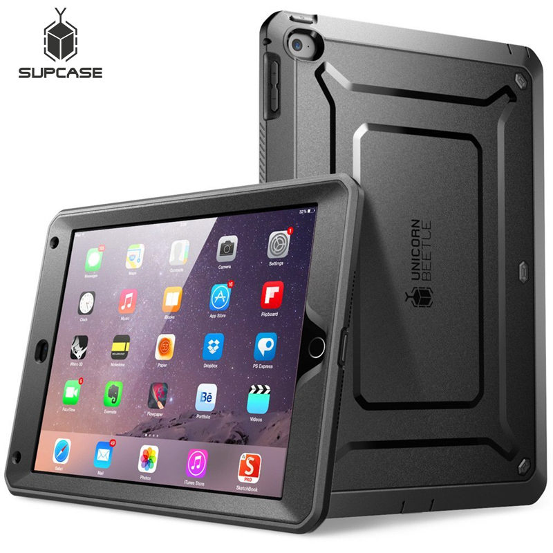 For ipad Air 2 Case SUPCASE UB Pro Full-body Rugged Dual-Layer Hybrid Protective Cover with Built-in Screen Protector For Air 2 image