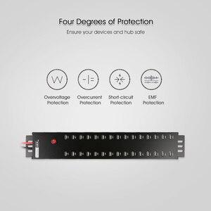 Image 3 - Sipolar hub USB 2.0 de qualité industrielle à grande vitesse pour tablettes et smartphones, charge et synchronisation des données, 30 ports, a 812