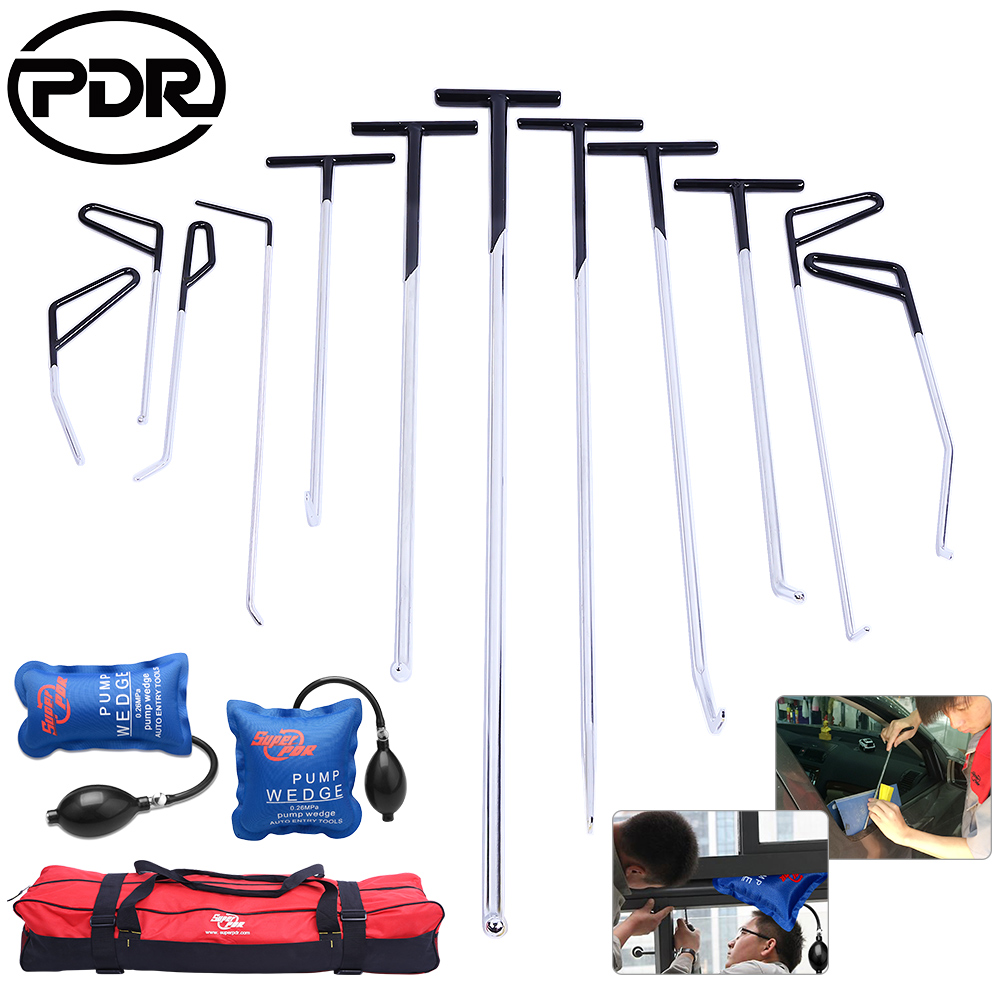 Pdr Tools Push Rods Hooks Car Crowbar Dent Removal