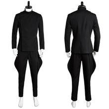 Película Star Wars Cosplay disfraces oficial Imperial negro uniforme traje  de ropa Unisex para adultos 586eb20fbe99
