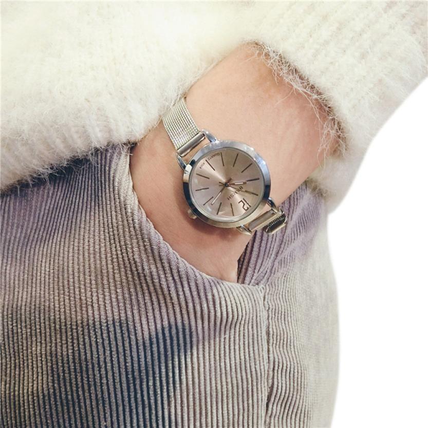 Watches women fashion watch 2018 luxury brand Quartz Watch lady Simple Exquisite Womens Watches Relogio Feminino Clock  #DWatches women fashion watch 2018 luxury brand Quartz Watch lady Simple Exquisite Womens Watches Relogio Feminino Clock  #D