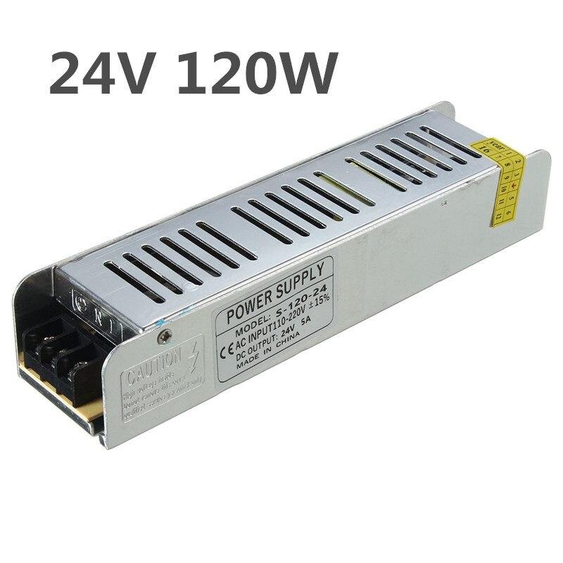 AC 110-220V To DC24V 60W/100W/120W/150W/200W Power Supply Driver Adapter Transformer Switch For LED Strip Light Bulbs