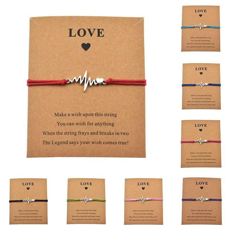 Card Medical Ecg Heart Charm