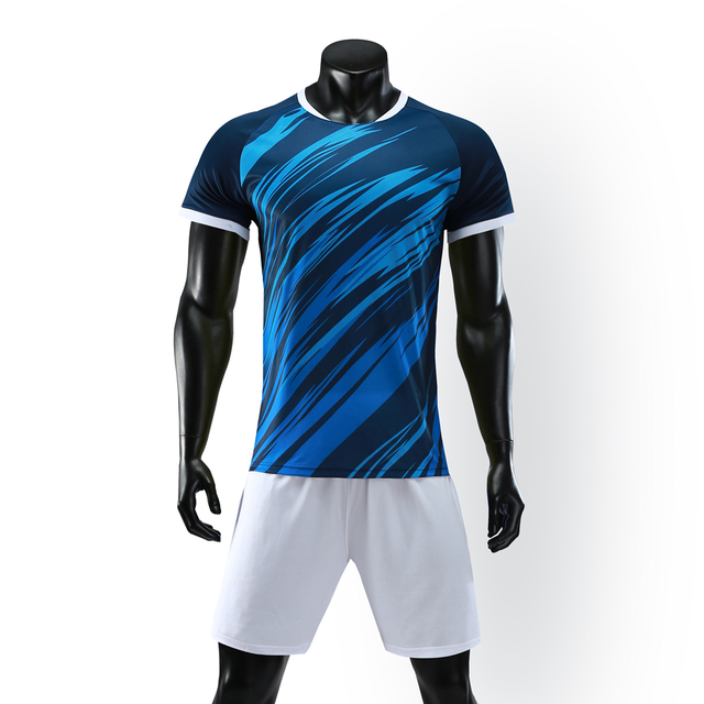 2019 New Soccer Uniforms Customize Men Football Jerseys Volleyball Soccer Kit Youth Football Training Set camisetas de futbol