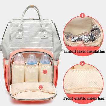 Mummy Maternity Nappy Backpack Bag Large Capacity Mom Baby Multifunction Outdoor Travel Diaper Bags For Baby Care baby diaper bag mummy maternity backpack changing nappy bag large capacity multifunction outdoor travel bag for baby care