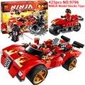 425 unids montado 70727 decool ninja bloques de construcción modelo de coche juguetes del bebé compatible mini personajes ladrillos juguetes para niños de regalo