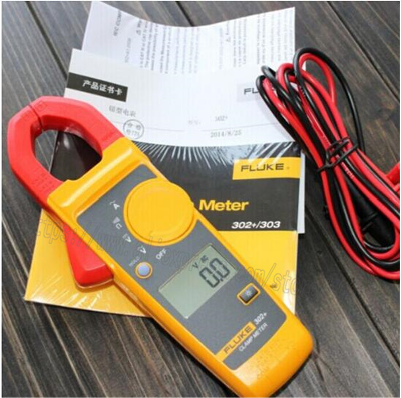 FLUKE 302 Clamp Meter Clamp Multimeter F302 AC 400A 2 years warranty F302