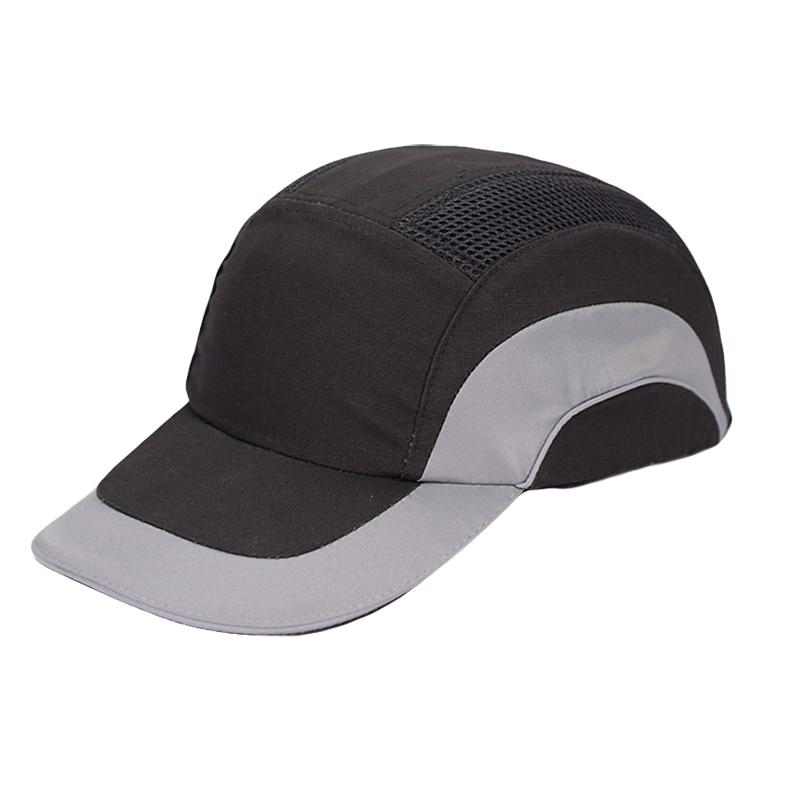 купить Bump Cap Impact resistant Work Hat Sporty Comfortable Breathable Hard Cap Anti-collision Light Weight Safety Helmet Head Protect по цене 1162.08 рублей