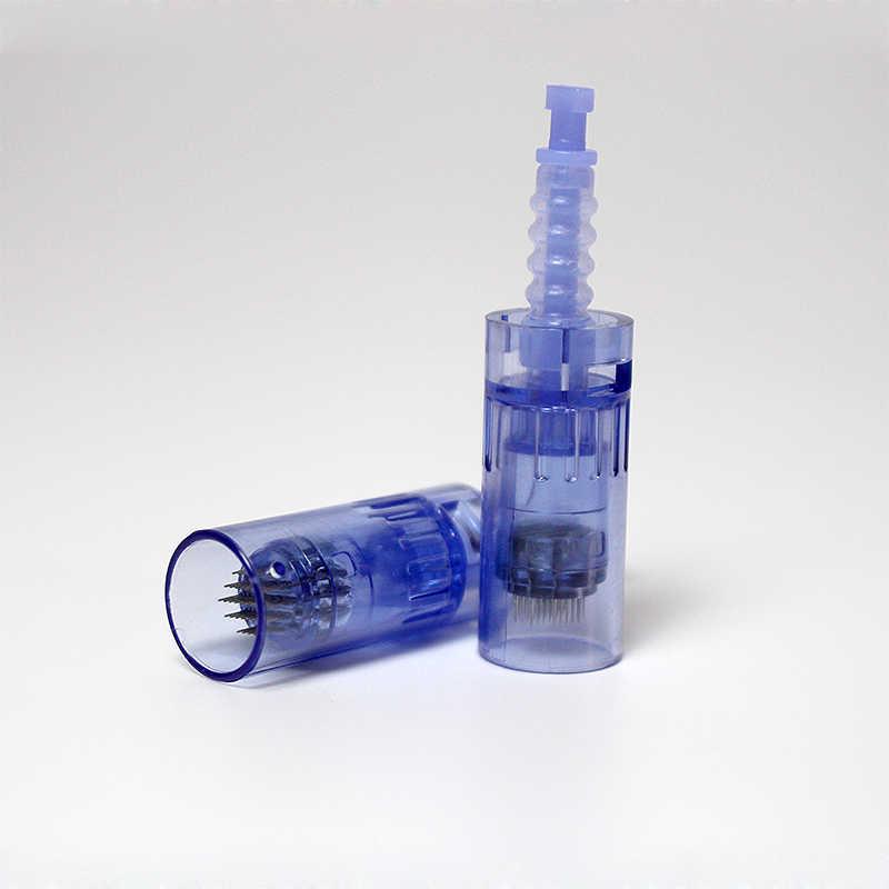Bộ 50 9 12 36 42 Pin Cơ Giới Meso Máy Kim Cho Máy Dr Pen ULTIMA A6 Vi Kim liệu Pháp Chăm Sóc Da Đầu