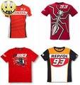 Envío gratis 2016 camiseta hond 93 marc márquez moto gp repsol motocicleta road racer camiseta moto racing jersey camisa