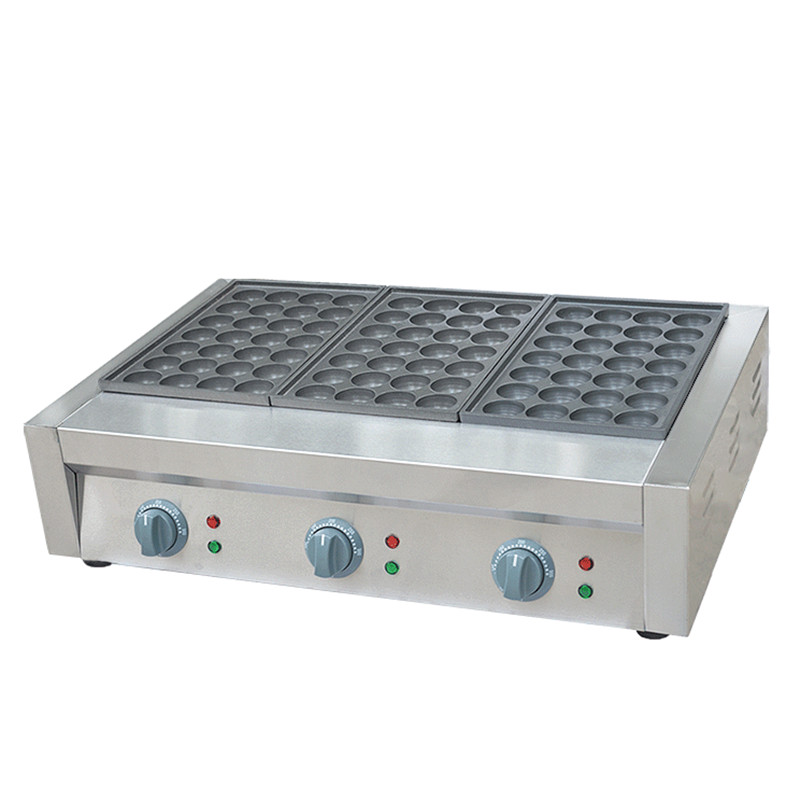 110V 220V Commercial Gas Three Board  Electric Fish Ball Non-stick Furnace Octopus balls Oven Machine EU/AU/UK Plug three groups of kebab ovens commercial electric oven machine