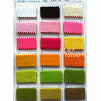 Choose Color 5MM Thick Felt Non Woven Felt 90X45cm For Home DIY Handmade Felt Bag Material