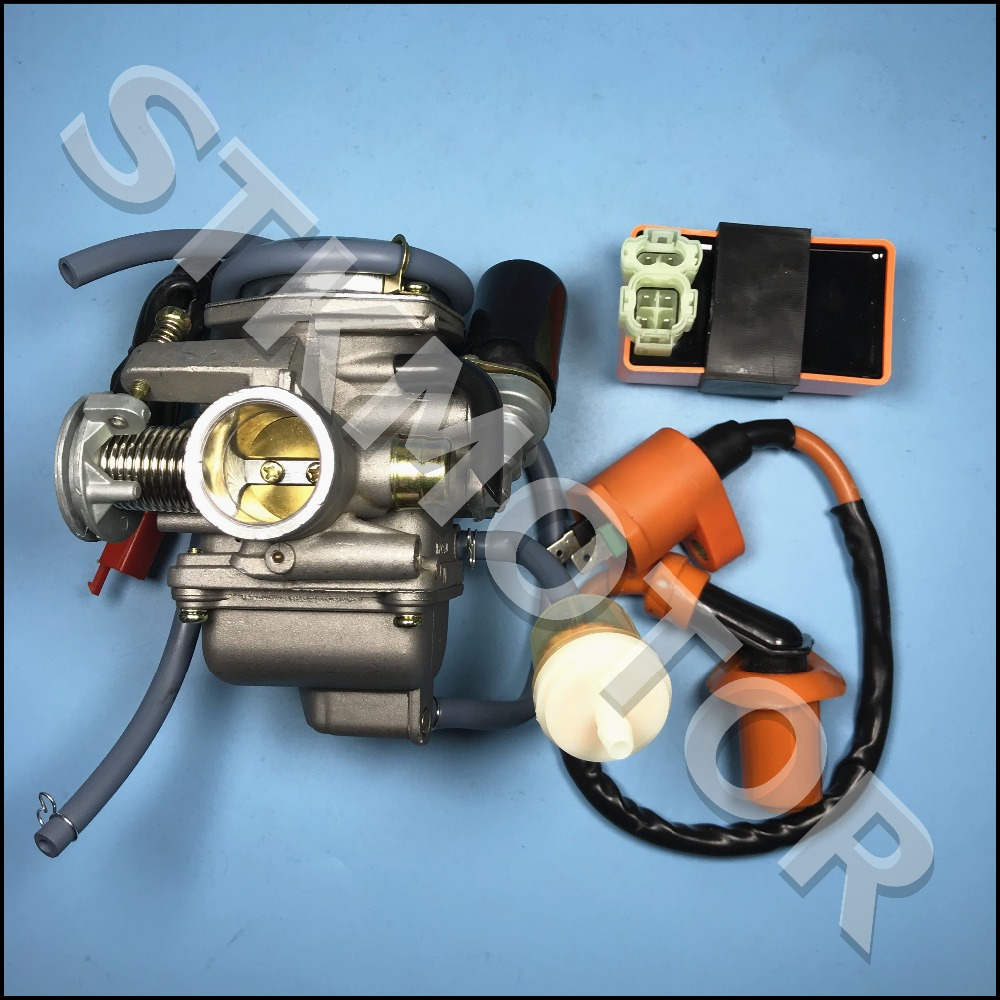 HOT SALE] GOOFIT PD24J Carburetor with Air Filter Intake