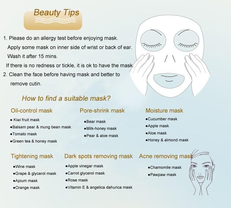 DIY Fruit Facial Mask Machine Maker Vegetable Skin Care Tool Moisturizing Whitening 13