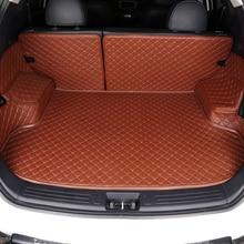 Personalizado Tapete Mala Do Carro Para Suzuki todos os modelos Grand Vitara Kizashi alivio Wagon SX4 Swift JIMNY X5 Tudo rodeado por mala do carro pad