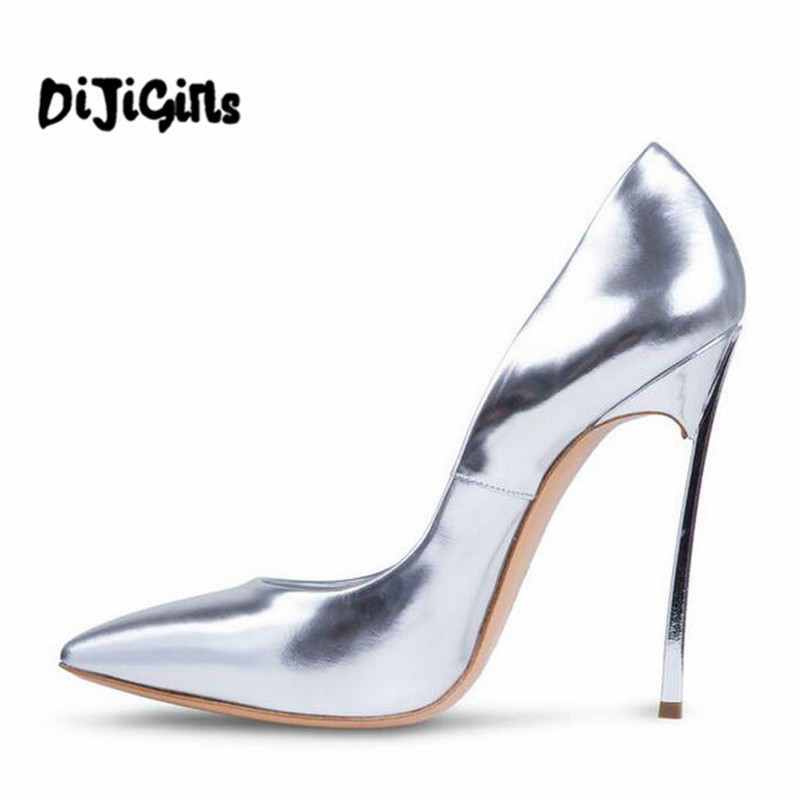 Big Size 35-43 Classic Women Pumps Pointed Toe Thin High Heels Women Shoes Party Wedding Shoes Woman Sexy Ladies Shoes ladies real leather high heels pumps pointed toe sexy thin high heeled shoes women shine wedding party footwears size 34 39