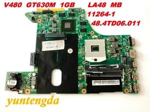 Image 1 - Original for Lenovo V480 motherboard GT630M  1GB   LA48  MB   11264 1  48.4TD06.011  tested good free shipping connectors