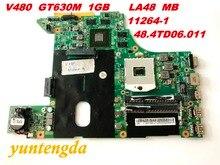 Originele Voor Lenovo V480 Moederbord GT630M 1Gb LA48 Mb 11264 1 48.4TD06.011 Getest Goede Gratis Verzending Connectors
