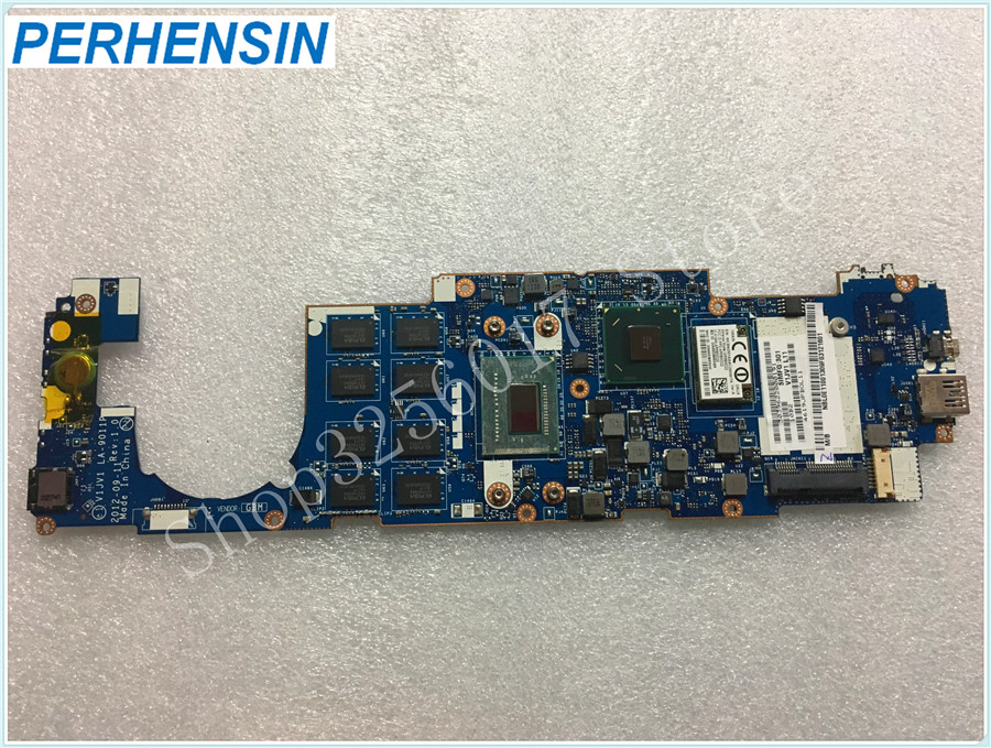 For Acer For Iconia W700 W700P MOTHERBOARD V1JV1 LA-9011P SR0N9 i3-3217U CPU 4GB RAM NBL0E11001 NB.L0E11.001 100% WORK PERFECTLY iconia w700 new for acer w700 tablet pc cpu fan built in cooling fan