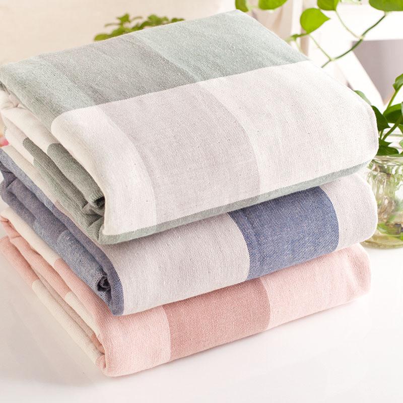 asciugamani di alta qualit 100 cotone telo da bagno per le donne uomini plaid