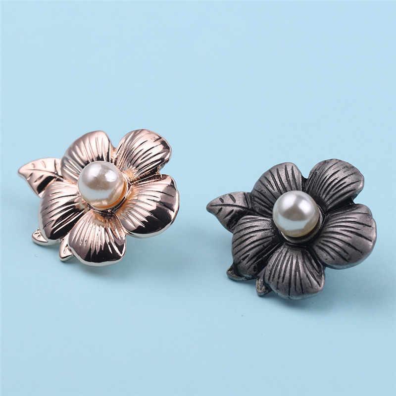 Vintage Bunga Bros untuk Wanita Putih Mutiara Bros untuk Wanita Pernikahan Fashion Bros Pin Vintage Lencana Perhiasan