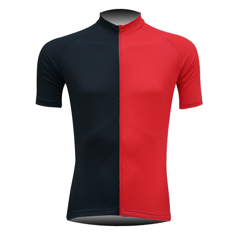 2019 Men's Cycling Jersey Tops Racing New Colorful Fashion Red Black Contrast Short Sleeve Sportswear Breathable Jersey Shirts Can Be Repeatedly Remolded.