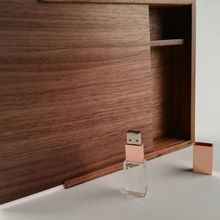 Rose Gold Crystal usb 3.0 interface memory flash stick with walnut box (free logo)
