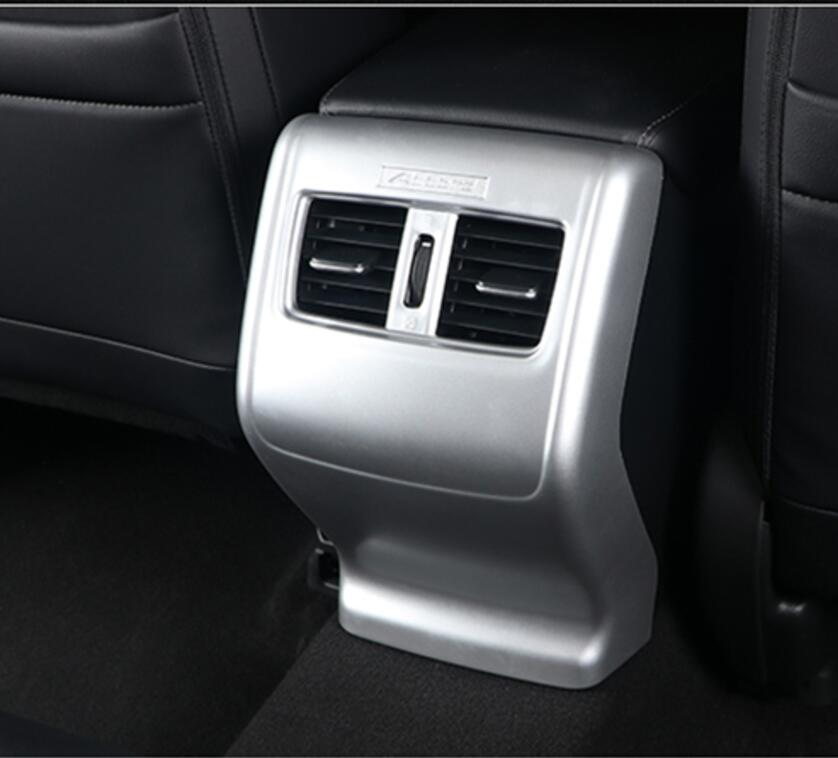 For Honda 10TH Accord sedan 4DR 2018 ABS Armrest box rear air conditioning air outlet frame Anti kick trim cover Car Styling|Chromium Styling| |  - title=
