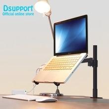 Altura Ajustável Mesa de Fixação 11-15 polegada Laptop Titular Movimento Total de Refrigeração Lapdesk Notebook Titular Brakcet Stand Tablet PC
