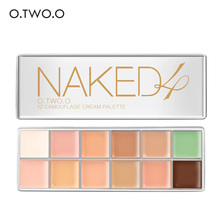 цены O.TWO.O Brand 12 Colors Pro Palette Concealer Face Contouring Makeup Concealer Cosmetic Facial Care Cream Palette