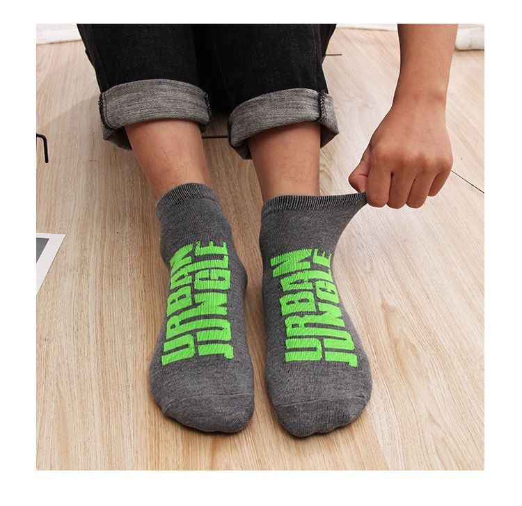 1 pair Autumn / Winter Warm Non-slip Floor Socks Boy and Girl Home Socks Cotton Candy Color Fluffy Ankle Thick Socks 4