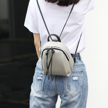 small backpack women leather Shoulder Bag 2019 Summer Multi-Function mini backpacks female School bagpack bag for teenage grils
