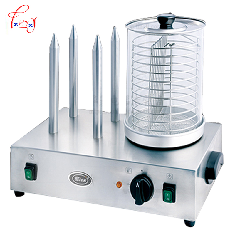 Home Commercial Grilled Sausage Machine electric hot grilled hot dog sausage machine use for Grilled insulation and display free shipping sausage machine taiwan hot dog machine roast sausage machine dedicated accessories motor gear