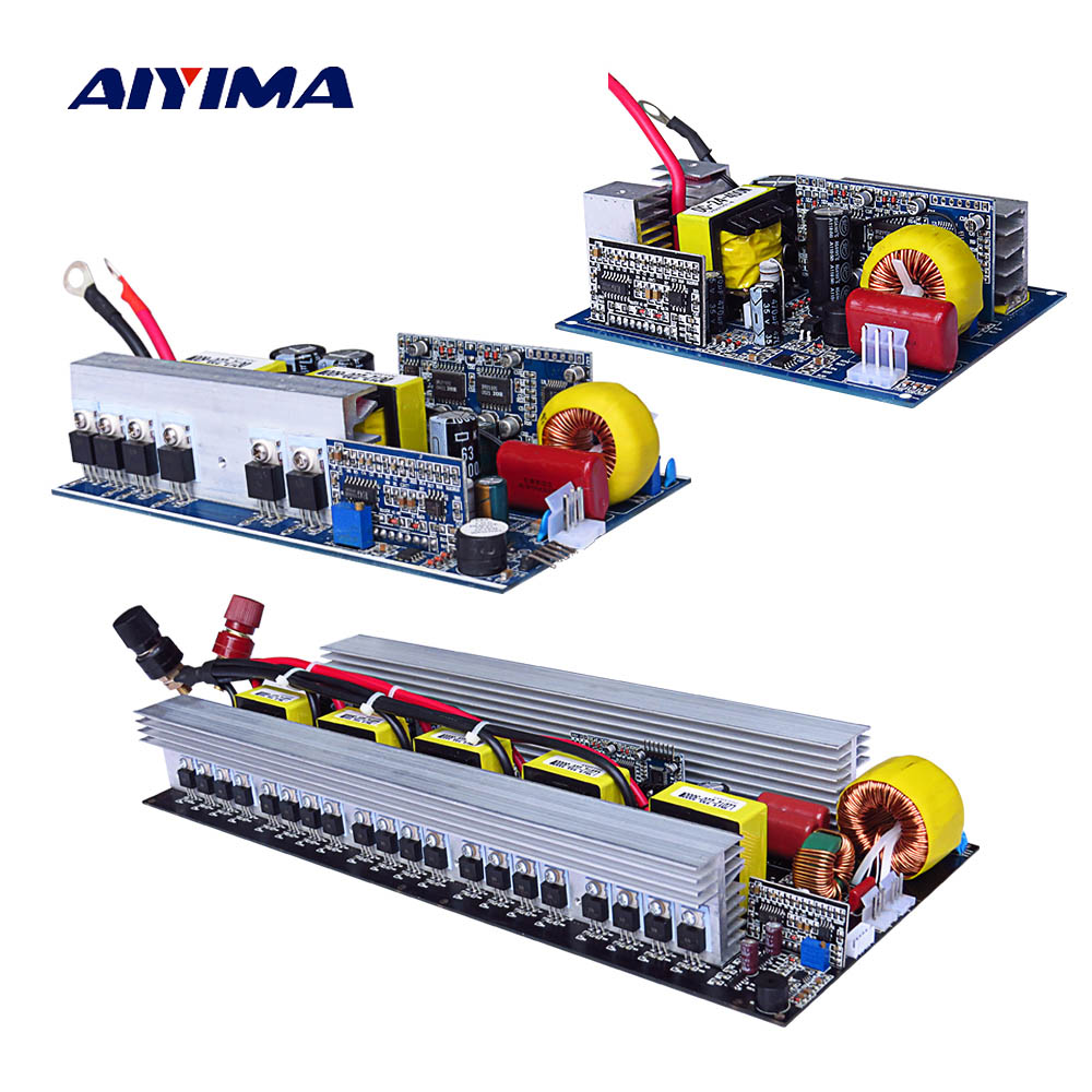 цена на Aiyima 1Pc Inversor Pure Sine Wave Power Inverter Board DC 24V To AC 220V 300W 500W 600W Technical 24V Converter High Quality